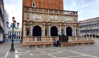 Der Architekt Jacopo Sansovino und die Loggetta von 1540 in Venedig